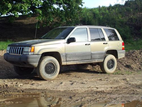 97 Jeep Grand Cherokee Laredo Lifted #5