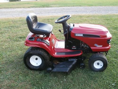 Craftsman 3000 Lawn Tractor : Craftsman dlt riding lawn mower car interior design