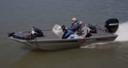 "2011 Lowe 16' Aluminum ""Skorpion"" Bass Boat with Karavan Trai"