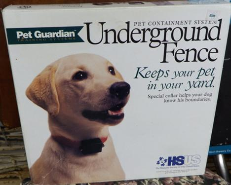 ELECTRIC DOG FENCE - UNDERGROUND FENCE BY PETSAFE AND SPORTDOG