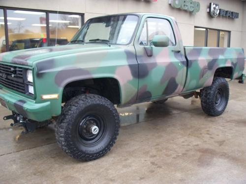 1984 Chevrolet D30 Military Unit A runaway truck ramp, runaway truck lane, escape lane, emergency escape ramp, or truck arrester bed is a traffic device that enables vehicles which are having braking. 1984 chevrolet d30 military unit