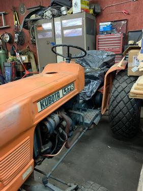 Kubota L175 Tractor If you're running old equipment on your farm, it's time you seriously consider taking the step to retrofit with rops and make your farm safer. kubota l175 tractor