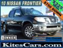 2010 NISSAN FRONTIER LE, 4X4, ONE OWNER