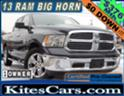 2013 RAM SLT 1500 4X4 WITH BIG HORN PACKAGE