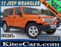 2013 JEEP WRANGLER UNLIMITED SAHARA 4X4 WITH ONLY 36,000 MILES