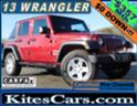 2013 JEEP WRANGLER UNLIMITED SPORT 4X4 WITH 75,000 MILES