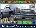 2014 CHEVY SILVERADO 1500 CREW CAB LTZ 4X4