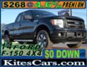 2014 FORD F-150 STYX 4X4, ONE OWNER WITH 96,000 MILES $268 mth