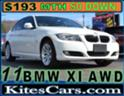 2011 BMW XI ALL WHEEL DRIVE, FULLY SERVICED, SADDLE BAG BROWN LEATHER SEATS