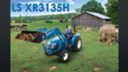 LS XR3135H, 35HP Tractor With Loader