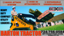 BOXER CONSTRUCTION EQUIPMENT IS AT BARTON TRACTOR!